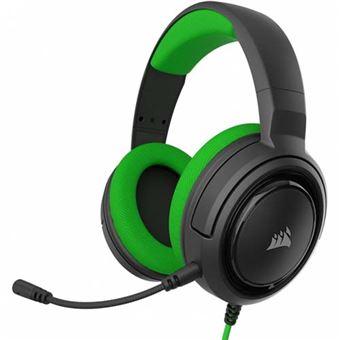 Auriculares gaming Corsair HS35 verde - Xbox One