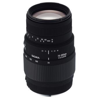 Objetivo Sigma 70-300 mm f4/5.6 DG Macro para Nikon