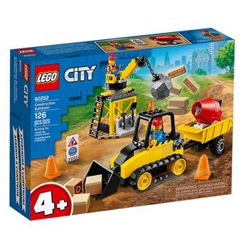 LEGO City Great Vehicles 60252 Buldócer de Construcción