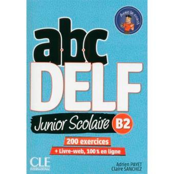 ABC Delf Junior Scolaire B2 + DVD