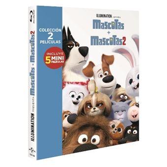 Pack Mascotas 1-2 - Blu-Ray