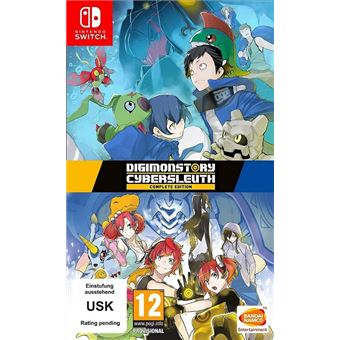 Digimon Story: Cyber Sleuth Hacker's Memory Complete Edition Nintendo Switch