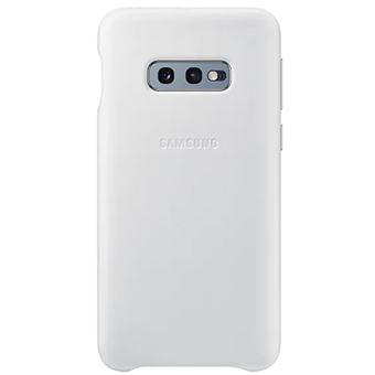 Funda de cuero Samsung para Galaxy S10e Blanco