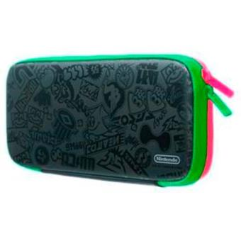 Nintendo Switch Set Accesorios (Funda Splatoon Edition + protector LCD)