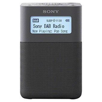 Radiodespertador portátil Sony XDR-V20D Negro