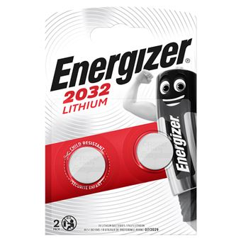 Energizer CR 2032 x2 Pila de Litio