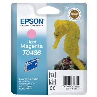 Epson T0486 Tinta magenta claro