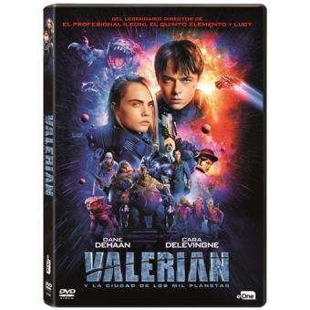 Valerian y la ciudad de los mil planetas - DVD