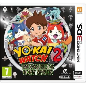Yo-kai Watch 2: Fantaesqueletos Ed. Limitada + Medalla Nintendo 3DS