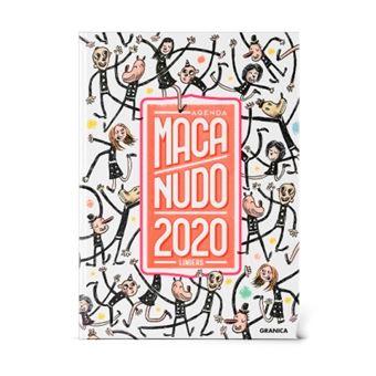 Agenda 2020 Macanudo lomo personaje
