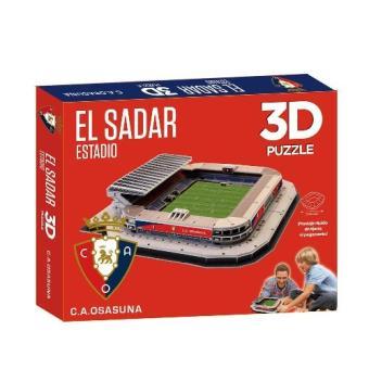 Puzzle Estadio El Sadar 3D