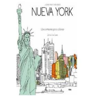 Nueva York secreto. Libro antiestrés para colorear