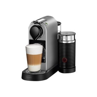 Cafetera Nespresso Krups Citiz and Milk Plata