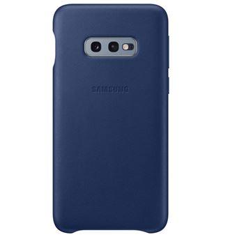 Funda de cuero Samsung para Galaxy S10e Azul Navy