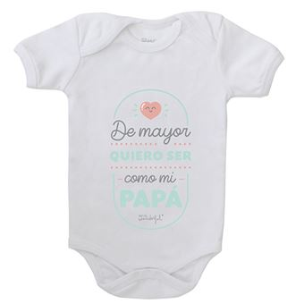 Mr Wonderful Body para bebé – De mayor quiero ser como mi papá