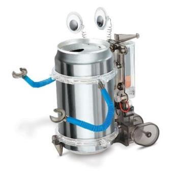 Crea y juega Robot Tin Can