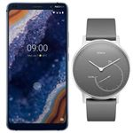 Nokia 9 PureView 5,99'' 128GB + Watch Withings Steel 36mm Pack
