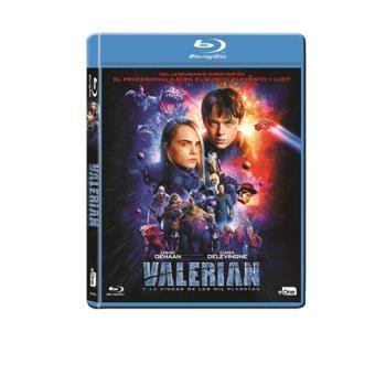 Valerian y la ciudad de los mil planetas - Blu-Ray