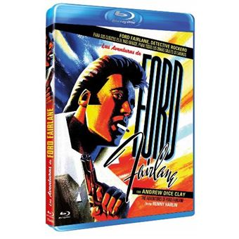 Las aventuras de Ford Farlaine - Blu-Ray