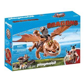 Playmobil Cómo entrenar a tu dragón Barrilete y Patapez