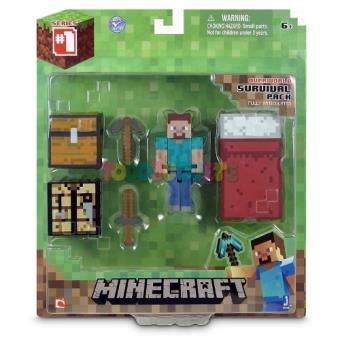 Blister figura Deluxe Minecraft - Varios personajes