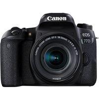 Cámara Réflex Canon EOS 77D + 18-55 mm IS STM