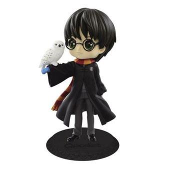 Figura Harry Potter & Hedwig Abrigo Negro