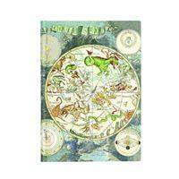 Libreta Paperblanks Mediana Rayada Planisferio celestial