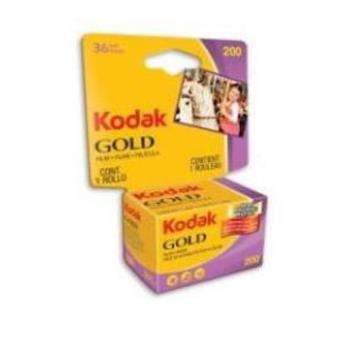Kodak GOLD 200 ISO/36 exposiciones