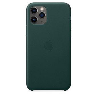Funda de piel Apple Verde noche para iPhone 11 Pro