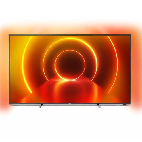 Tv led 50'' philips 50pus7805 4k uhd hdr smart tv
