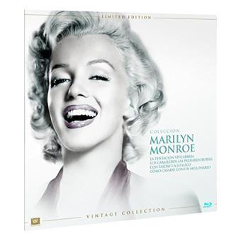 Pack Marilyn Monroe - Ed Limitada Vinilo - Blu-Ray