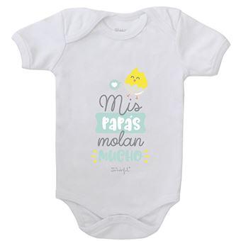 Mr Wonderful Body para bebé – Mis papás molan mucho