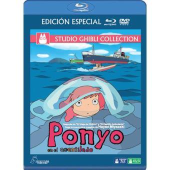 Ponyo en el acantilado - Blu-Ray + DVD