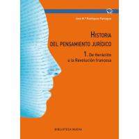 Historia del pensamiento jurídico 1