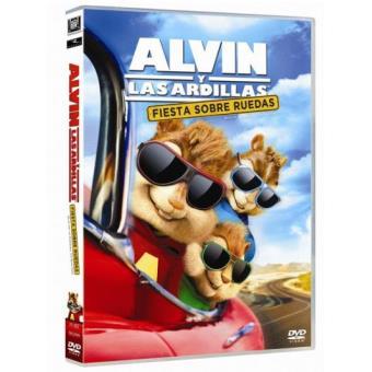 Alvin y las ardillas. Fiesta sobre ruedas - DVD