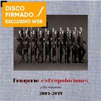 Extrapolaciones y dos respuestas + Libro + DVD - Disco firmado