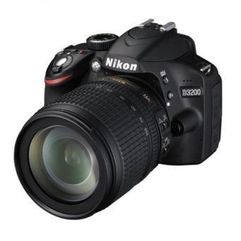 Nikon D3200 + VR18-105mm + Estuche Pack Cámara Réflex Digital