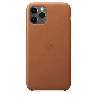 Funda de piel Apple Marrón caramelo para iPhone 11 Pro