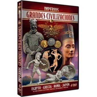 Pack Imperios grandes civil 4 - DVD