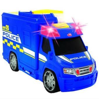 Maletín Coche policía con luz y sonido