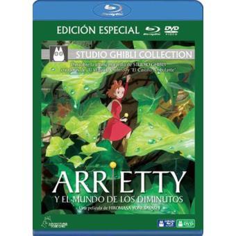Arrietty y el mundo de los diminutos - Blu-Ray + DVD