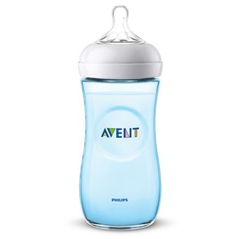 Biberón natural Philips Avent SCF038/17 330 ml 6 meses Azul