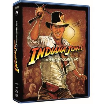 Pack Saga Indiana Jones - Blu-Ray