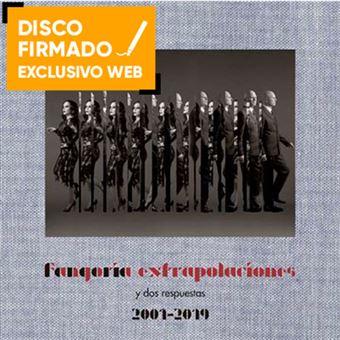 Extrapolaciones y dos respuestas - 2 Vinilos + CD + Libro + DVD -Disco firmado