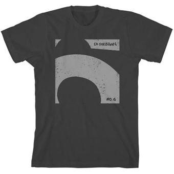 Camiseta Ed Sheeran No.6 gris - Talla XL