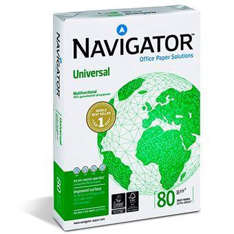 Papel Navigator Universal A4 80 g 500 hojas