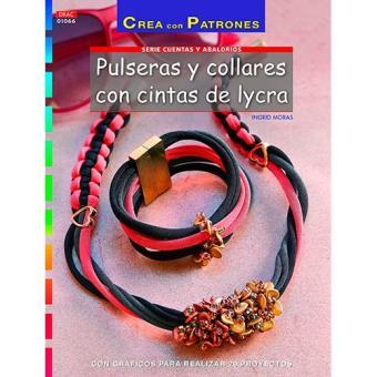 7019cee43f9b Crea Con Patrones  Abalorios. Pulseras Y collares con cintas de ...