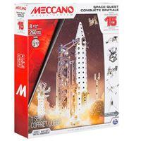 Meccano multimodelos 15 modelos cohete espacial Bizak