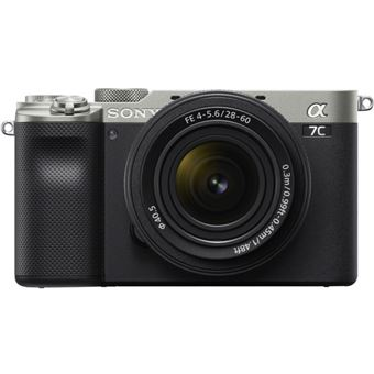 Cámara EVIL Sony Alpha 7C + 28-60 mm f/4-5.6 Plata